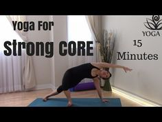 Yoga for Stong Core / Abs - YouTube
