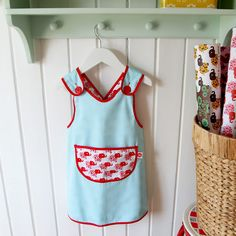 DIY Apron - would love to make this for pnut!
