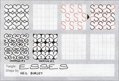 Esses - tangle pattern by perfectly4med