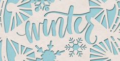 In this week's tutorial, we create a paper cut out effect in Photoshop using recycled paper textures, hand lettering and vector snowflakes.