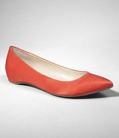 SATIN POINTY TOE FLAT at Express - StyleSays