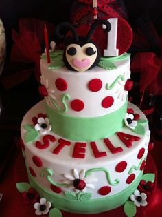 Another lady bug cake