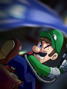 Luigi Mansion 3 by Hrrrrrrrrrr on DeviantArt Super Mario Bros Nintendo, Super Mario And Luigi, Super Mario Art, Nintendo Games, Luigi Mansion, Luigi's Mansion 3, Haunted Mansion, Super Princess Peach, Green Warriors