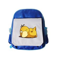 psyduck lay on here bagpack - pok
