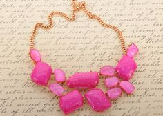Alluring Shades of Pink Necklace