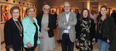 ALMUÑÉCAR. La muestracolectiva está formada por media docena de artistas que exponen sus trabajos en la sala de exposiciones de la Casa de la Cultura de la mano del