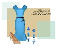 Pageant Interview by loretta-goodin-kendall on Polyvore