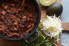Black Bean Sweet Potato Chili is the answer to a vegetarian chili lovers dream! This chili is loaded with so much flavor you'll want 2 bowls for dinner.