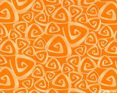Twirl - Triangular Swirl - Pumpkin