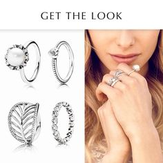 """""""Be a boho chick and wear all your favourite rings. #PANDORAring #PANDORAstyle"""""""