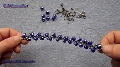 Diy Crafts - Ivy,making-Ivy Bracelet Making - - Bracelet Ivy making Seed Bead Jewelry, Bead Jewellery, Wire Jewelry, Handmade Jewelry, Seed Beads, Handmade Wire, Jewelry Bracelets, Beaded Bracelets Tutorial, Necklace Tutorial