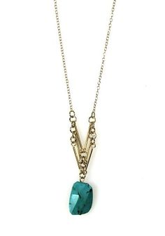 Spotted Moth: My Tribe Necklace: Turquoise