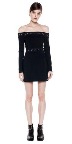 Dresses | ECLIPSE LACED LS MINI DRESS