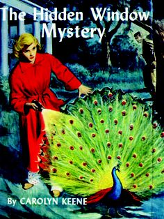 38. The Hidden Window Mystery  Nancy, Bess, and George are on the hunt for a medieval pane of stained glass.    Read more: Original Nancy Drew Books in Order - Summary of Nancy Drew Mysteries - Country Living
