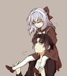 Shinoa & Guren [Owari no Seraph]