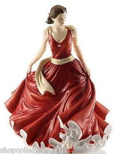 Royal Doulton Isabelle Pretty Ladies Fine Bone China Collectors Figurine.