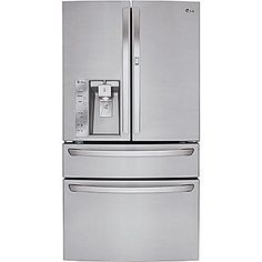 LG 30 cu ft Four-French Door Refrigerator w/ Door-in-Door