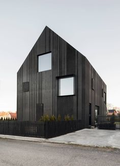 In Sweden, Bornstein Lyckefors Has Designed A Villa Clad Entirely In Black Wood - IGNANT