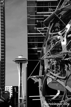 Black And White Art, City Photography, Urban Art by bluerainimages on Etsy