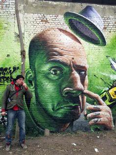 Smug New Mural In Hasselt, Belgium