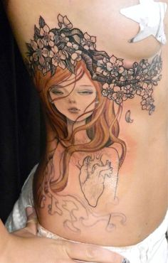 audrey kawasaki tattoo. all her artwork is incredible!