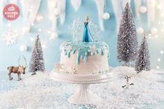 Eiskönigin Elsa Kindergeburtstag FROZEN Party Torte
