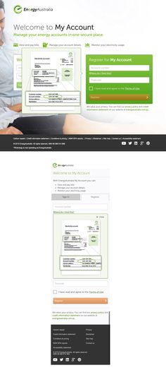 Energy Australia responsive tooltip