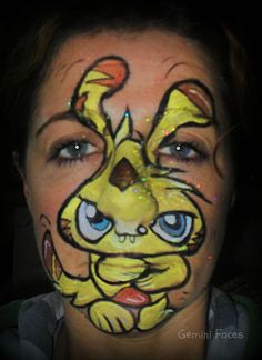 moshi monters face painting