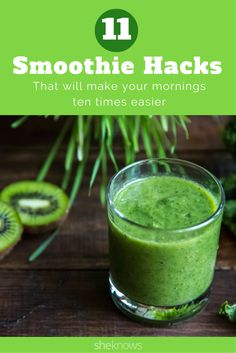 Breakfast smoothie hacks that make it so much easier to do mornings right
