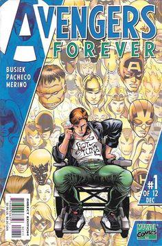 Avengers Forever # 1 Marvel Comics