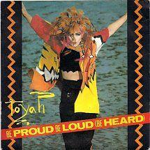45cat - Toyah - Be Proud Be Loud (Be Heard) / Laughing With The Fools - Safari - UK - SAFE 52