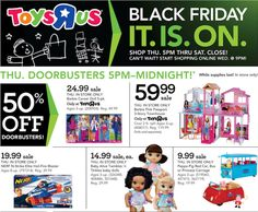 Toys R us Black Friday 2017 - http://extremecouponprofessors.net/2017/11/toys-r-us-black-friday-2017/