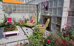 A selection of photographs showing the Fresh Gardens at the Chelsea Flower   Show 2014