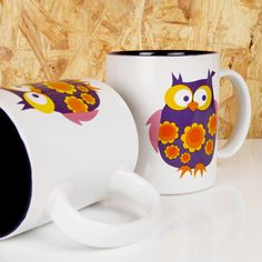 Buy gifts online from Hard to Find gifts Australia. Hard to Find homewares online & gifts for him, gifts for her, gifts for kids, unique gift ideas & presents Owl Mug, Purple Owl, Buy Gifts Online, Gifts Australia, Cute Owl, Gifts For Him, Coffee Cups, Personalized Gifts, Unique Gifts
