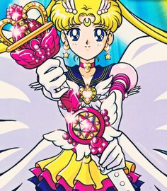 sailor moon, I remember watching her since before I understood English lol