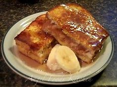 Banana French toast, rachel ray?