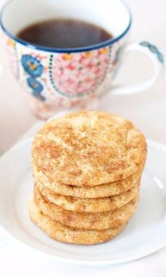 Copycat Starbucks Toffeedoodles-Having a craving for your favorite coffee shop toffee cookie? Look no further, this toffee-Snickerdoodle hybrid recipe will satisfy your craving. Made with toffee bits candy, cinnamon, sugar, cream of tartar and flour...these sweet treats are perfect for parties, dessert, snacks, a mid-morning or mid-afternoon coffee or tea break...you name it. You're friends will think you made a Starbucks to go run but your home will smell like a gourmet bakery!