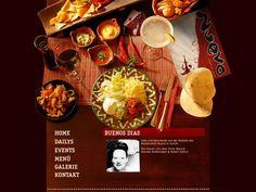 58 best Restaurant - Web Design images on Pinterest | Restaurant ...