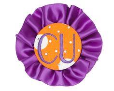 Clemson Spirit Button  #Clemson #ClemsonTigers #ClemsonUniversity #Tigers #CU Saturday Night Football, Clemson Tigers, Alma Mater, Spirit, Collection, Orange, Button, Accessories, Buttons