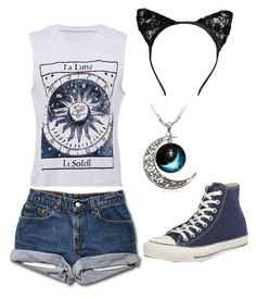 """""""Summers not over yet"""" by livvie47 on Polyvore featuring Converse"""
