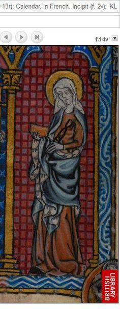 1320 Maastrichter Stundenbuch f14v b
