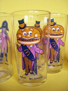 Vintage McDonald\u2019s Drinking Glass