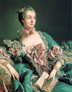 Madame de Pompadour por François Boucher