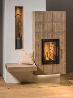 Jetzt Umfrage ausfüllen und ein kostenloses Angebot für deinen Wunschkachelofen erhalten.  Enthalten ist: ✅ Kostenschätzung ✅ 3D-Plan ✅ Beispielbilder Design, Home Decor, 3d, Modern Country Style, Fireplace Heater, Living Room, Decoration Home, Room Decor
