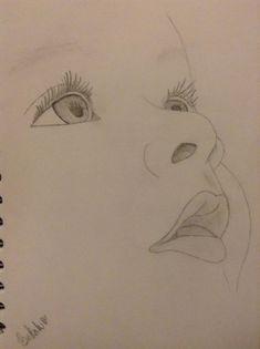 Pin by bekah on (my art) in 2019 Pencil Drawing Images, 3d Art Drawing, Girl Drawing Sketches, Art Drawings Sketches Simple, Painting & Drawing, Pencil Sketching, Pencil Shading, Baby Drawing, Art Drawings Beautiful