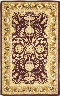 Starting at $39 - Safavieh Heritage HG261C Red and Gold Traditional Area Rugs - http://www.boldrugs.com/Safavieh-Heritage-HG261C-Red-and-Gold-rugs.html