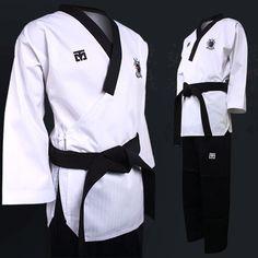Taebek Poomsae Dan Male Uniform Mooto Premium Pro Taekwondo TKD Suits Dobok MMA #Mooto