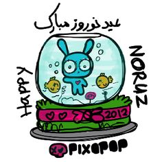 Happy norouz by pixopop.com