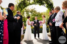 Wedding at the Conservatory Garden - North Garden, Central Park, NY Photograph by FOTOVOLIDA Wedding Photography #wedding #CentralParkWedding