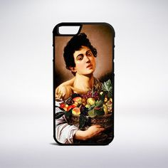 Caravaggio - Boy With A Basket Of Fruit Phone Case – Muse Phone Cases